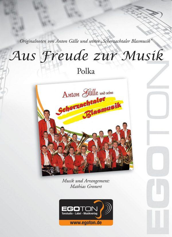 Aus Freude zur Musik, Polka von Mathias Gronert