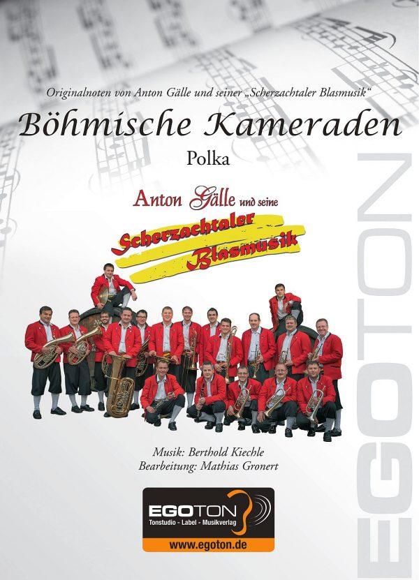 Böhmische Kameraden, Polka von Berthold Kiechle
