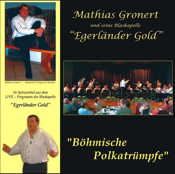 "CD-""Böhmische Polkatrümpfe"" der Blaskapelle ""Egerländer Gold"""