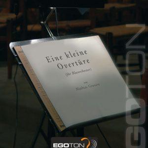 Eine kleine Overtüre, Konzertantes Eröffnungswerk von Mathias Gronert