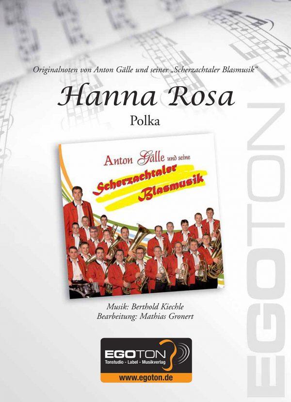Hanna Rosa, Polka von Berthold Kiechle