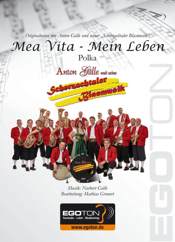 Mea Vita - Mein Leben, Polka von Norbert Gälle