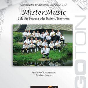 MisterMusic, Solo für Posaune/Tenorhorn von Mathias Gronert
