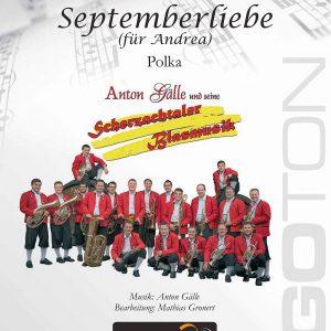 Septemberliebe, Polka von Anton Gälle